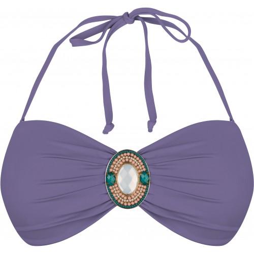 BOHO iconic bandeau Lavendel Lila