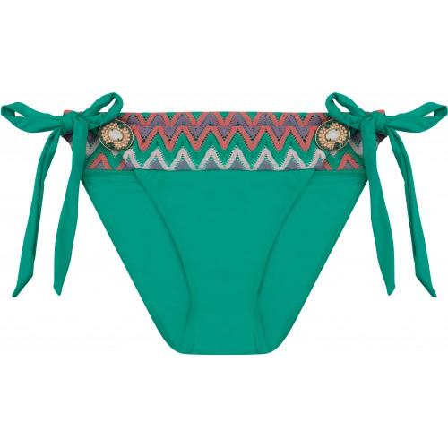 BOHO iconic aztec bow Smaragd Green