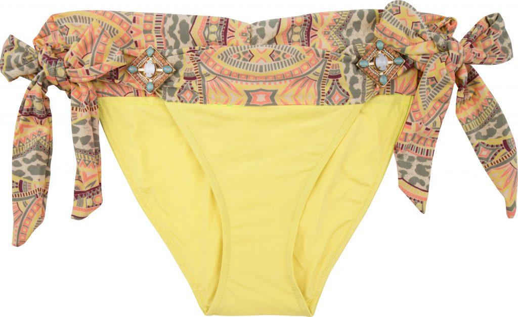 BOHO The Elite bottom Yellow & Print