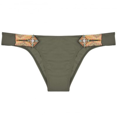 BOHO The Lush bottom Olive & print