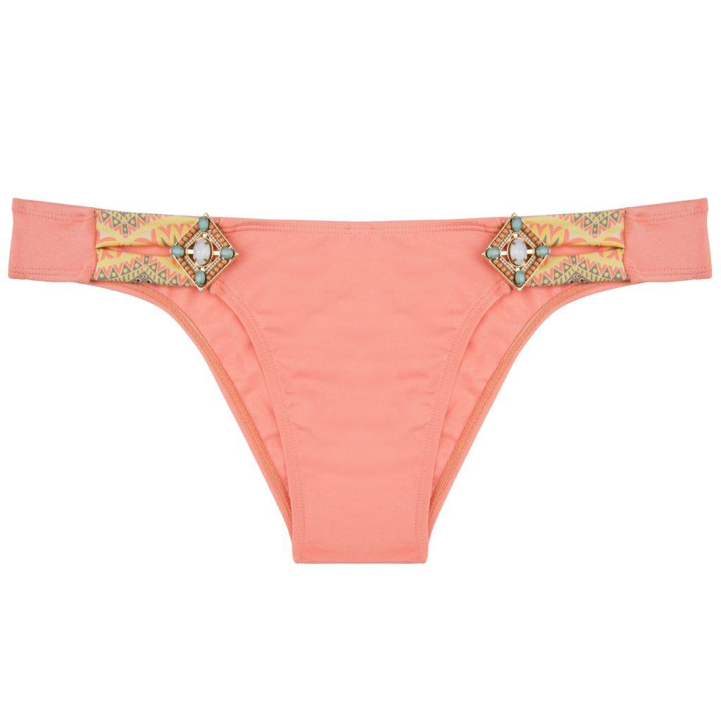 BOHO The Lush bottom Peach & Print