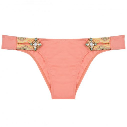 BOHO The Lush bottom Peach & Print