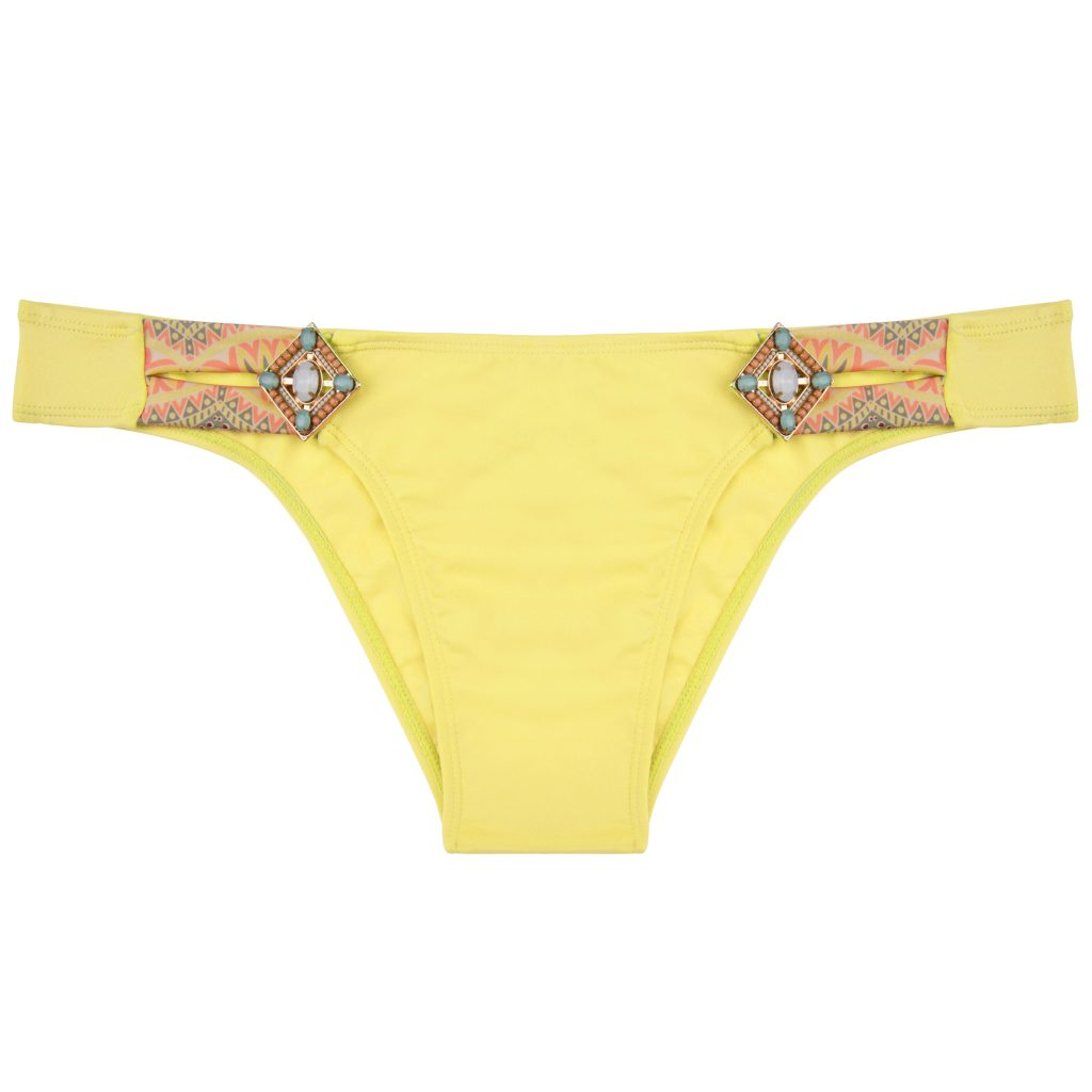 BOHO The Lush bottom Yellow & Print