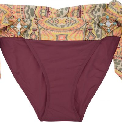 BOHO The Elite bottom Aubergine & Print