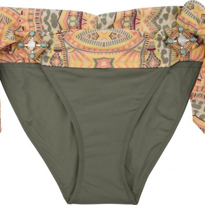 BOHO The Elite bottom Olive & Print
