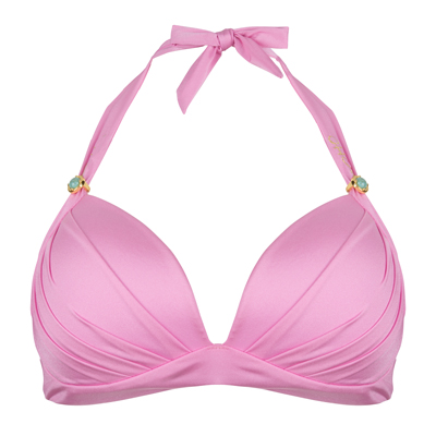 BOHO Lustrous Halter Rose-Pink
