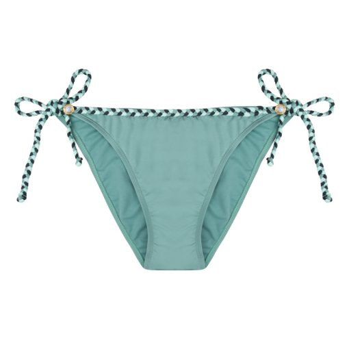 BOHO The Ruffles Bikini Strap Charcoal-Grey
