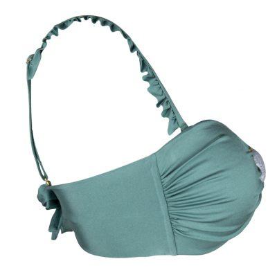BOHO The Ruffles Bikini Strap Sage-Green