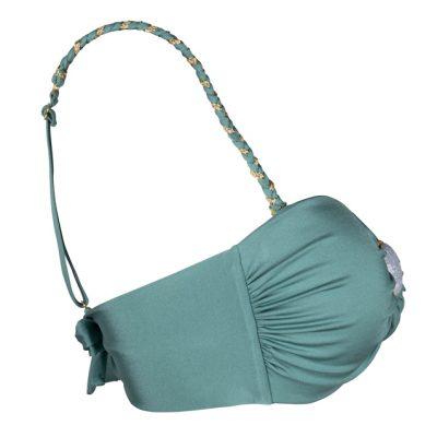 BOHO The Braided Bikini Strap Sage-Green